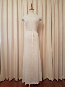 FATE-Women-039-s-White-Maxi-Dress-Summer-Holiday-Size-10Tall-As-New