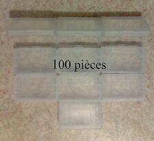 100 Boîtiers de protection Game Boy Advance GBA - boîte rangement étui plastique