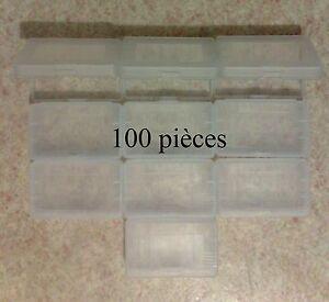 100-Boitiers-de-protection-Game-Boy-Advance-GBA-boite-rangement-etui-plastique