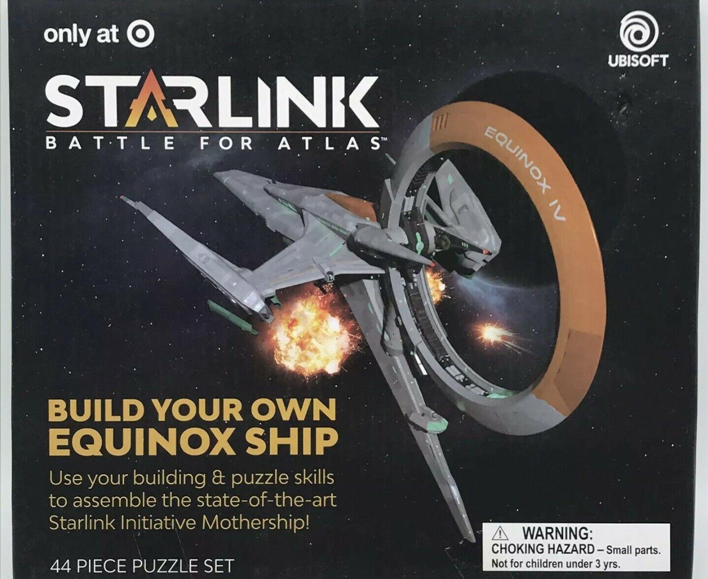 44pc Puzzle Set Starlink Battle for Atlas STEM Build Your Own Equinox Ship