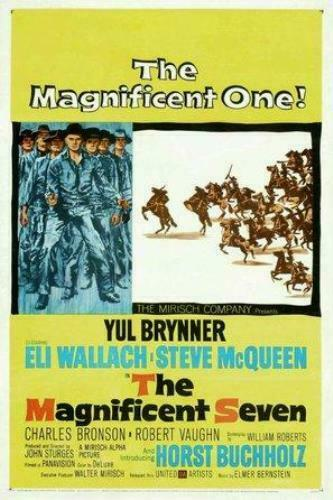The Magnificent Seven Poster  The Magnificent Seven Movie Poster  Movie Poster