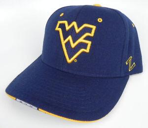 WEST VIRGINIA MOUNTAINEERS  NCAA  ADJUSTABLE Z GAMER CAP HAT NEW! ZEPHYR