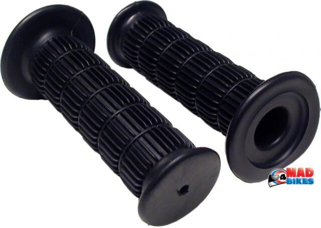 NEW KAWASAKI  Z650, Z900 , Z1000 CLASSIC STYLE BLACK HANDLEBAR GRIPS (PAIR)