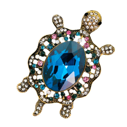 Pins animaux broche broche Pins strass pierres précieuses bijoux Costume