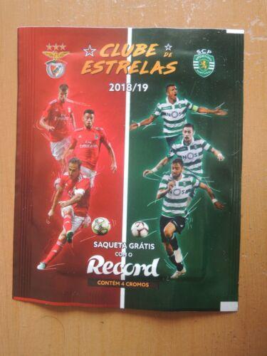 """Portugal Benfica and Sporting /""""Liga das Estrelas/"""" packet//bag//bustina"""
