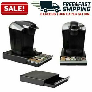 Coffee-Pod-Holder-for-Keurig-K-Cup-Storage-Drawer-Dispenser-Stand-Organizer-Rack