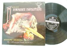 BERLIOZ SYMPHONIE FANTASTIQUE ATAULFO ARGENTA Decca SXL 2009 wb / ED1...33 rpm