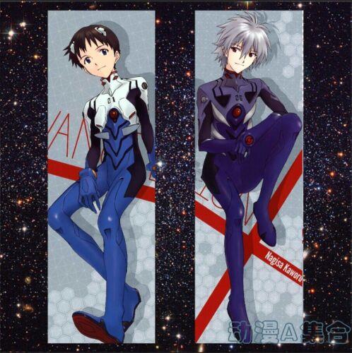 Japanese Anime EVA Neon Genesis Evangelion Dakimakura Hugging Body Pillow Case
