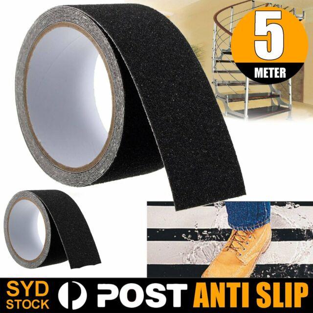 5M 10cm Anti Slip Tape Non Slip High Grip Adhesive Backed Safety Flooring Sticky