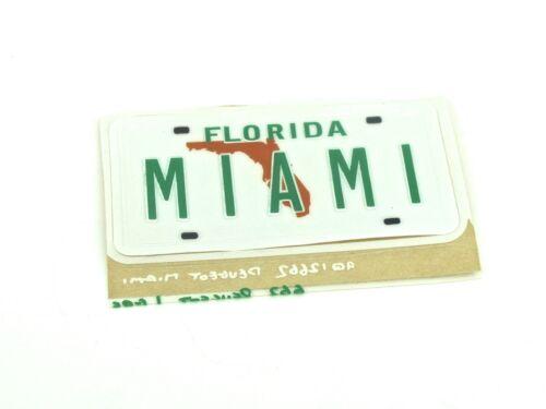 Original Peugeot Florida Miami Emblema Insignia Logo 106 205 206 306 405 Gti Sed