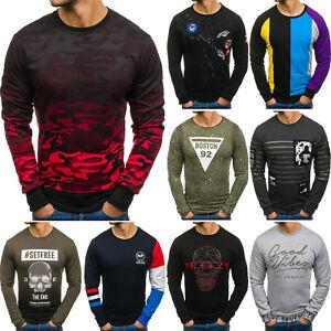 Sweathirt Mens Crew Logo 1a1 Bolf Neck Pullover Camo Sweater Mix Sport Stampa qxSnndp5w