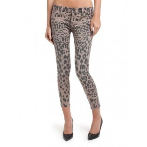 Cropped Women's Skinny Stampa Marciano Guess No Jean Sz The 61 leopardato 24 By wpEOxqI