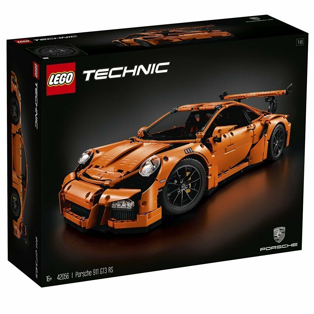 Lego Technic™ 42056 Porsche 911 GT3 Rs Nuovo Confezione Originale Misb