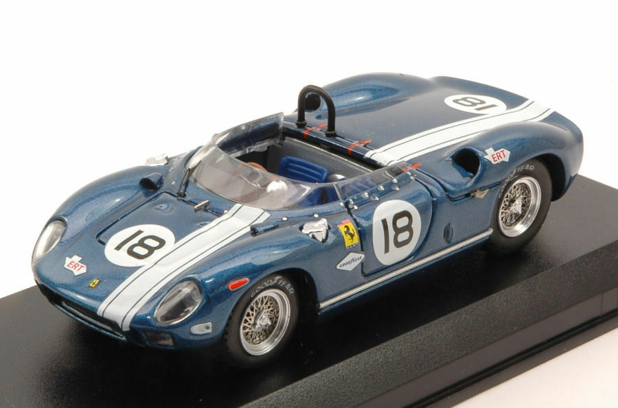 Ferrari 275 P DNF 500 KM Bridge Hampton 1965 M. Andretti 1 43 Model 0346