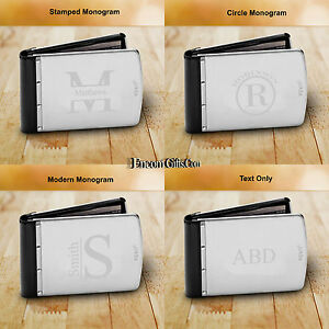 Personalized-ZIPPO-STAINLESS-STEEL-WALLET-RFID-BLOCKING-Credit-Card-ANTI-Theft