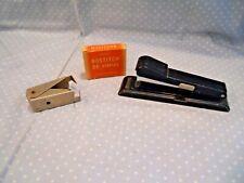 Vtg Bostitch B8 Stapler14 Box Of B8 Staplesamp Vtg Ideal Staple Remover