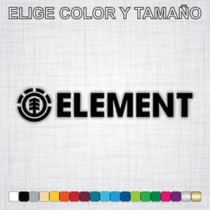 Vinilo-adhesivo-ELEMENT-pegatina-logo-autocollant-moto-surf-skate-decal