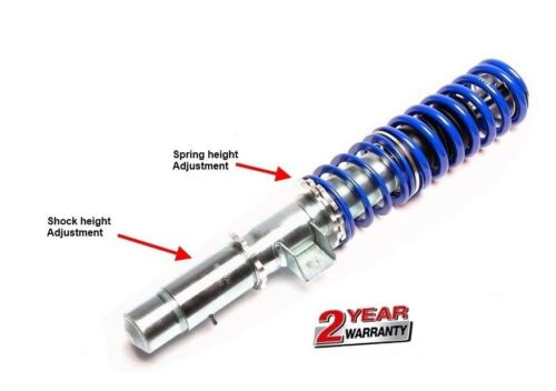 2 Way Adjustable Coilover Suspension Kit For BMW E46 Front Camber Plates