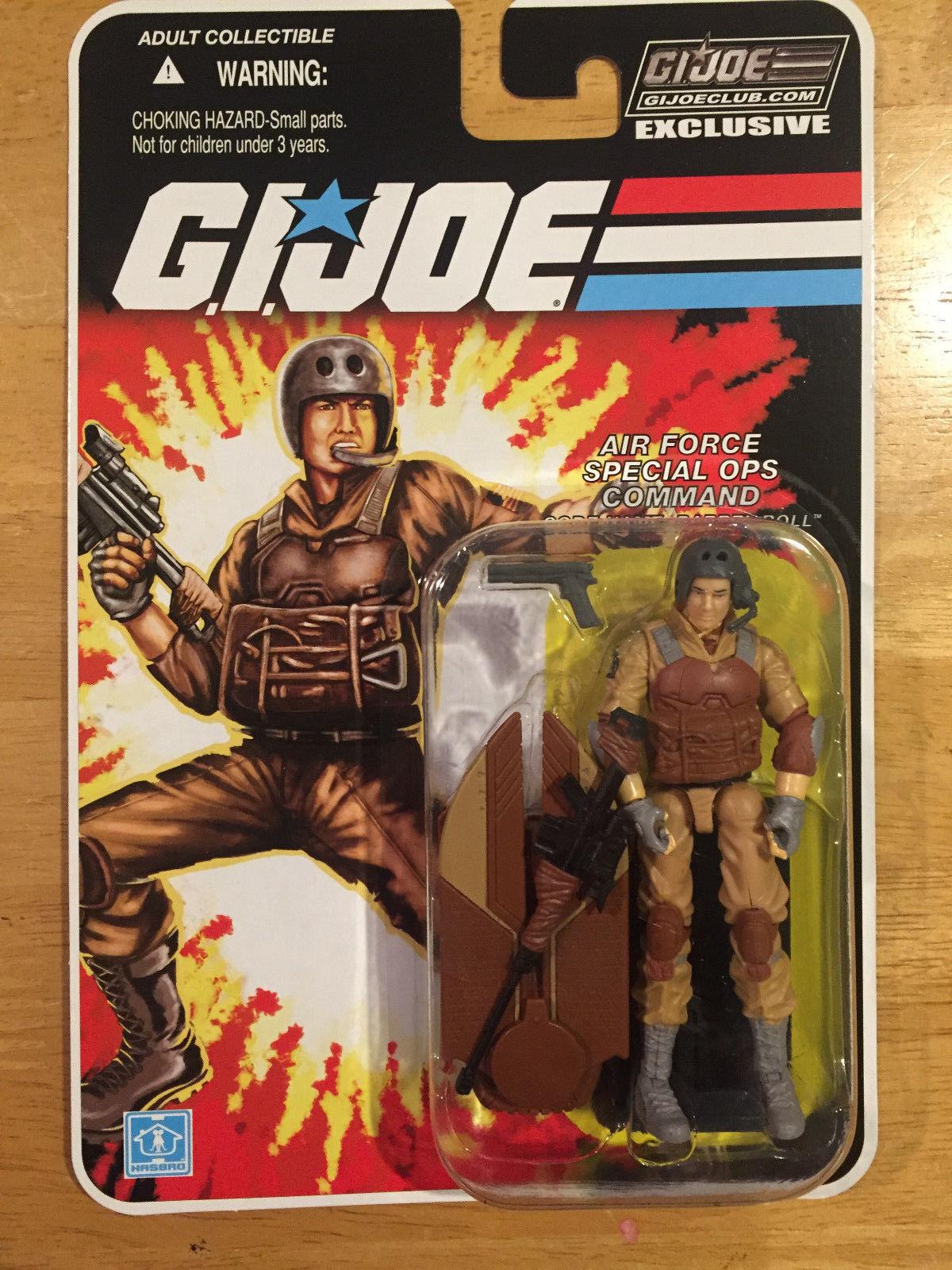 G.I.JOE EXCLUSIVE CLUB FSS 1.0: BARREL ROLL - AIR FORCE SPECIAL OPS COMMAND