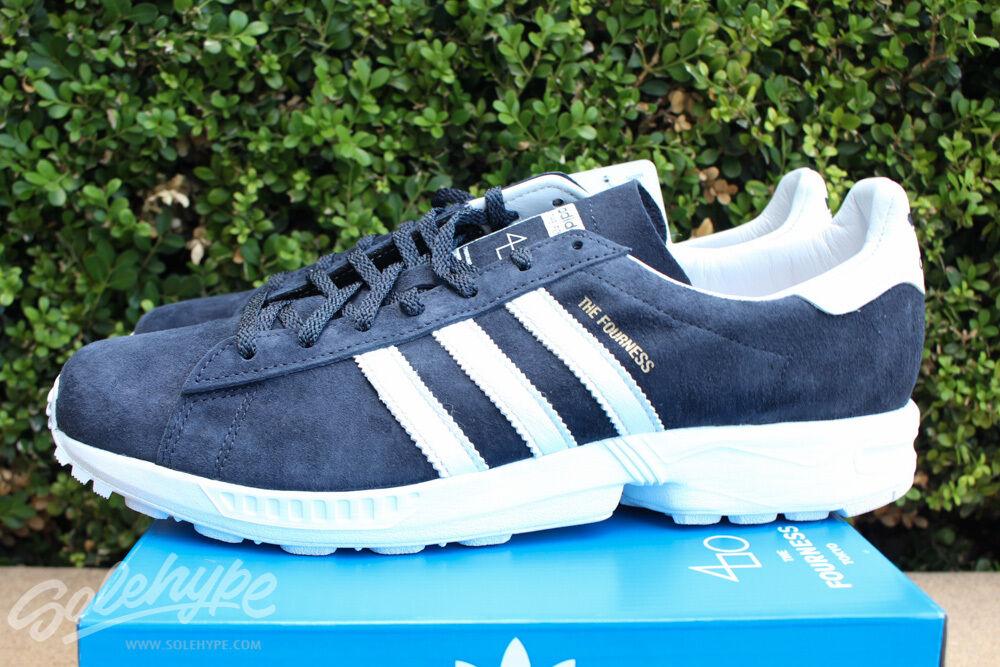 Adidas Originals Campus 8000 fourness sz 8.5 Nuit Bleu Marine Blanc Vintage S82624-