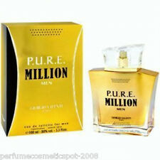 PURE / P.U.R.E. MILLION GIORGIO VALENTI COLOGNE FOR MEN 3.3 OZ 100 ML EDT SPRAY