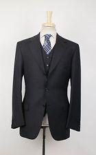 NWT BRIONI Nomentano 21 Navy Stripe Wool 3 Button 3 Piece Suit 50/40 R $7150