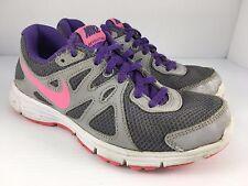 0e1503d18a9 item 2 NIKE Revolution 2 Girls Kids US 3.5 White Gray + Pink Purple Running  Shoes -NIKE Revolution 2 Girls Kids US 3.5 White Gray + Pink Purple Running  ...
