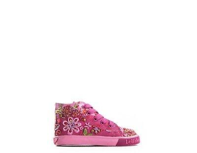 2019 Nuovo Stile Scarpe Lelli Kelly Bambini Sneakers Trendy Fuxia Tessuto Lk8080