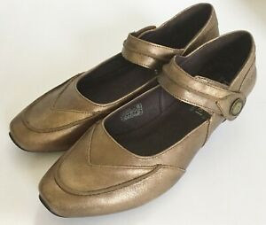 best website ffca8 338f0 Details about Women's Josef Seibel Mary Jane Bronze Shoes 40 / 9 M New