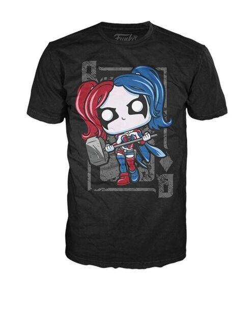 dbdc1c65c Funko Pop Tees T-shirt DC Super Heroes Harley Quinn Unisex Large for ...