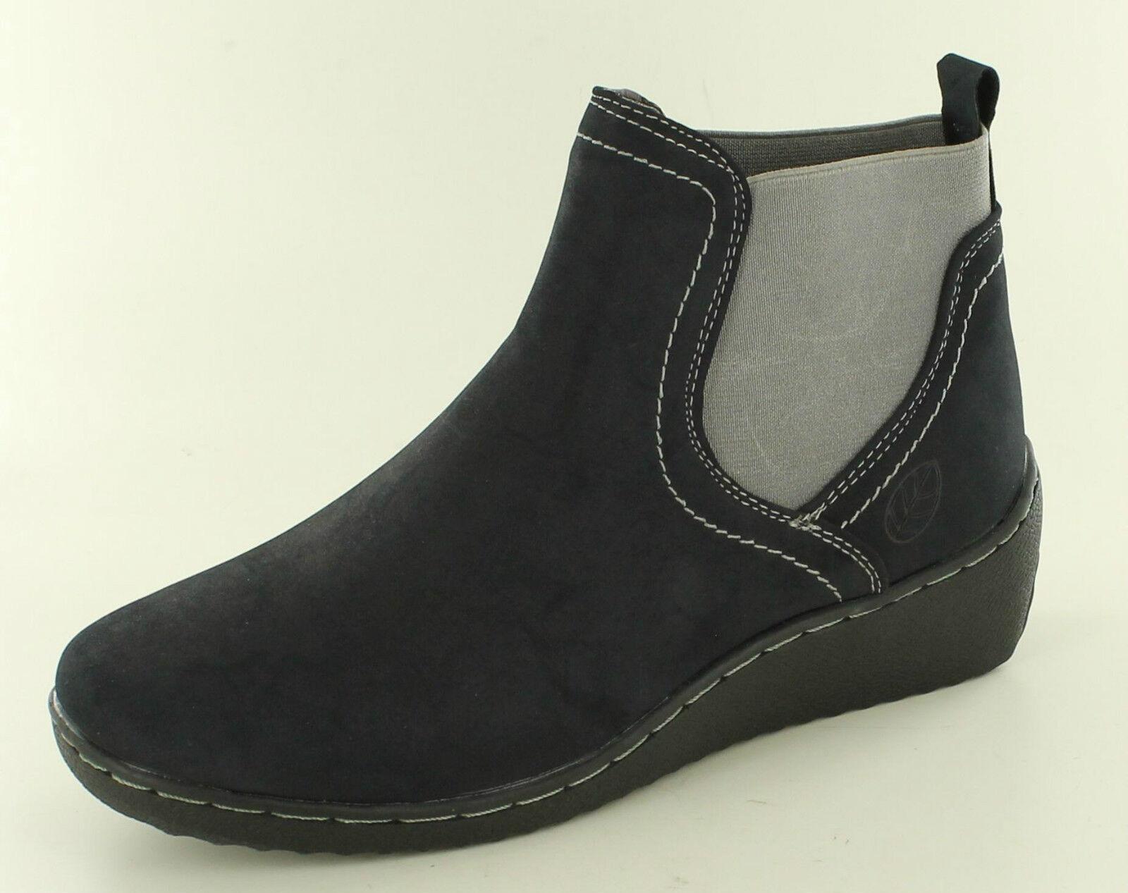Natrelle Hawk Slip On Ankle Boots Black