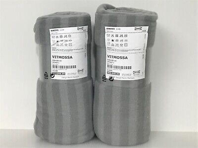 VITMOSSA grey, Throw IKEA