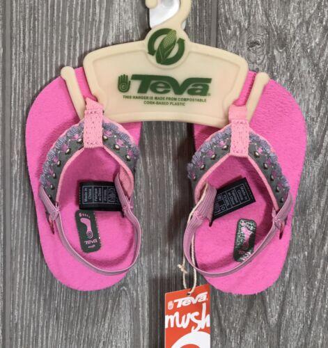Hula Girl PINK NIP Teva Mush Infant Baby HULA GIRL/'S Sandals 6085 New