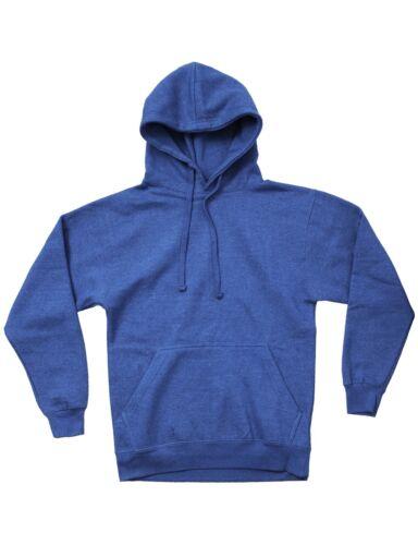 Mens Pullover Hoodie Sweatshirts Plain Hoodied T Shirts Solid Tee Casual Fashion