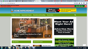 Established-home-improvement-Clickbank-adsense-wordpress-website-ads-placement