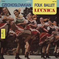 Lucnica Ensemble - Czechoslovakian Folk Ballet From Bratislava [new Cd] on Sale