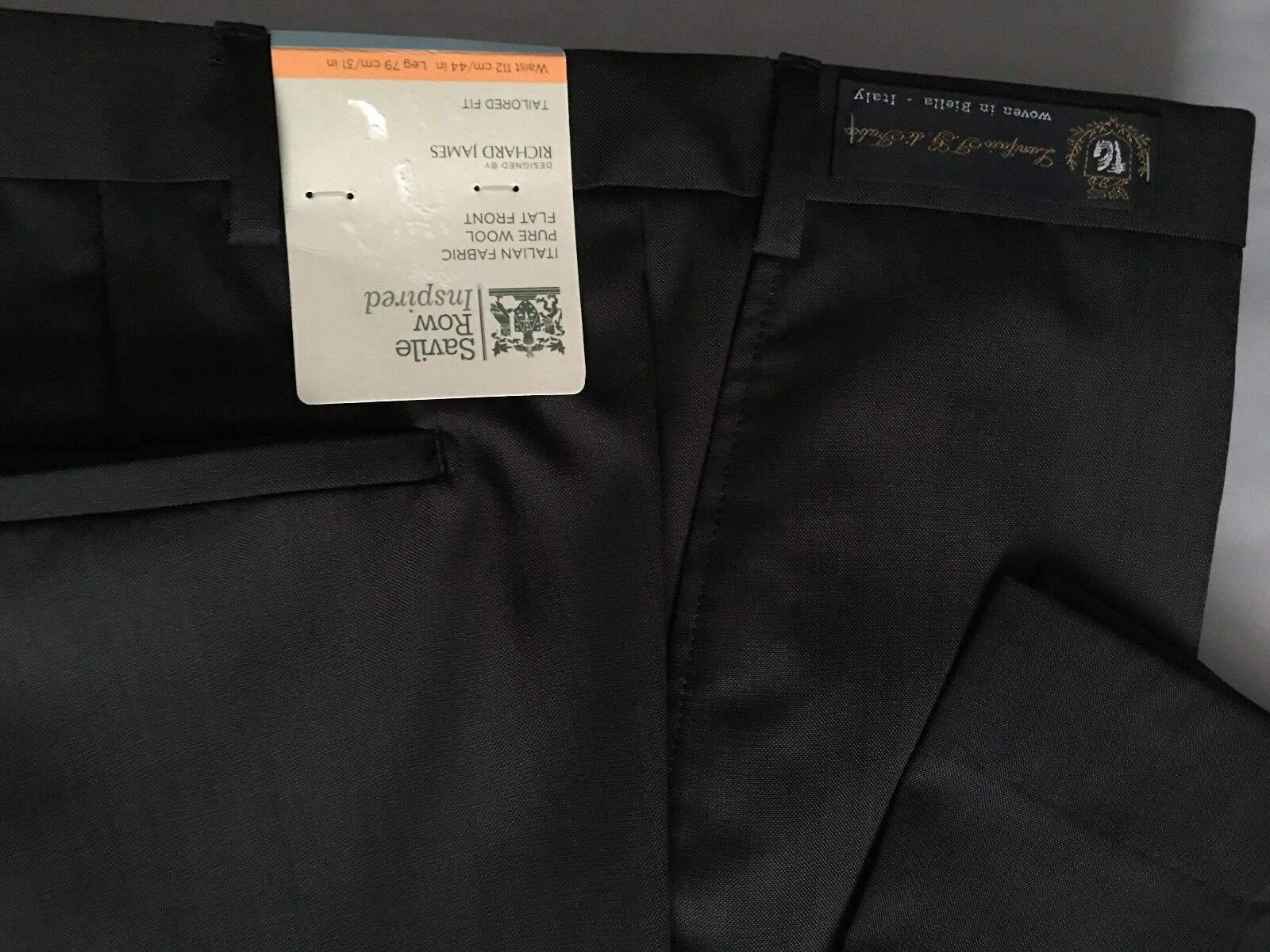 M&S SAVILE ROW grau TailGoldt Fit Fit Fit Flat Front Trousers  PRP | ein guter Ruf in der Welt  | Modern  | Ein Gleichgewicht zwischen Zähigkeit und Härte  | Spielen Sie Leidenschaft, spielen Sie die Ernte, spielen Sie die Welt  | Verwendet in der Haltbarkeit ebab1e