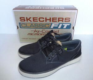 borde vendedor Fragua  Skechers Homme Nouveau Moreno mousse à mémoire de forme Noir Baskets  Décontractées Chaussures UK 6-13 | eBay