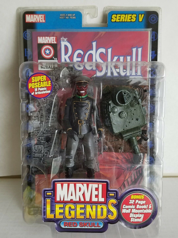 Marvel Legends RED SKULL Series 5 Action Figure Toy Biz