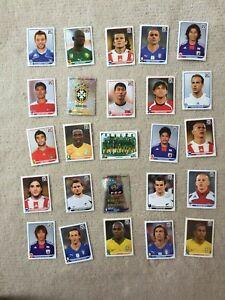 Konvolut-Panini-Sticker-Fussbal-WM-2010-25-Stueck-II