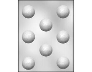 Golf-Ball-Chocolate-Mould