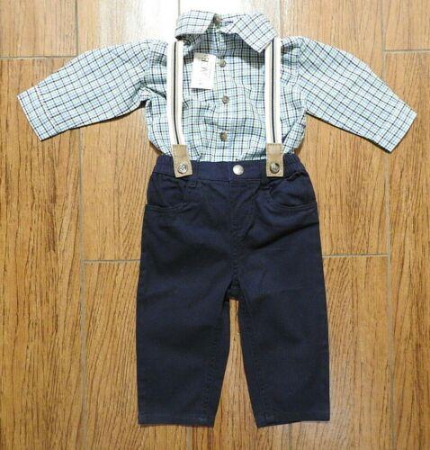 The Children/'s place bébé Garçon Chemise et Pantalon 2-pc Set-SZ 6-9 mois Neuf avec étiquettes