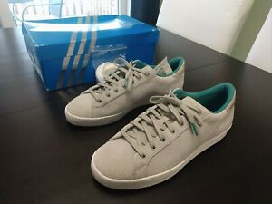Details zu Adidas Originals Rod Laver Vintage HUF Consortium Mens 9 US 8.5 UK Rare White