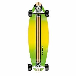 Osprey Hollow Complete Carver Skateboard - Yellow 29-Inch ...