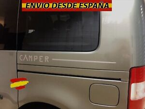 2X-Laterales-Adhesivas-Decal-stickers-De-Vinilos-Coche-Furgo-Camper-70x5cm