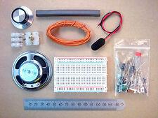 Solderless Breadboard Six Transistor MW AM Radio Kit Of Parts