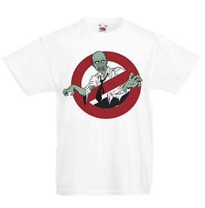 Zombie Ghostbusters Kid/'s T-Shirt Children Boys Girls Unisex Top