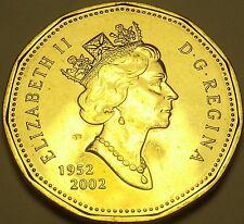 Gem Unc Canada 1992 Loonie Dollar~150th Anniversary Of The Confederation~Fr/Ship