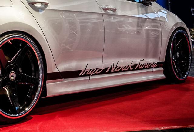 2009 Bistyle RLD Seitenschweller aus ABS für Opel Astra J ab Bj
