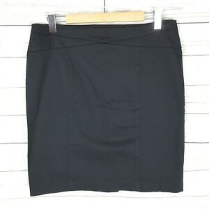 Portmans-Skirt-Size-14-Black-Pencil